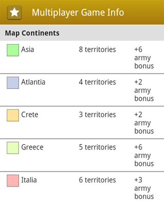 Landrule New Version In Marketplace - Name of continents